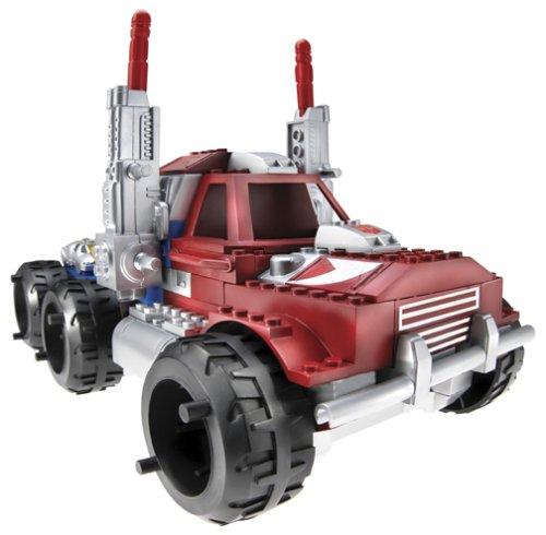 - Transformers Armada BTR Built to Rule Optimus Prime with Sparkplug Mini-Con, 101 Piece Set, 7056