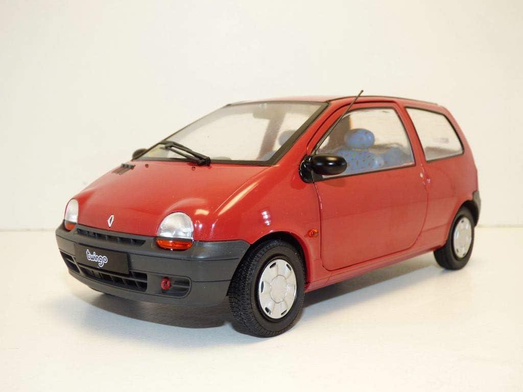 Solido 421185410 Soldio S1804002 Renault Twingo MK1 1993 Model Car 1:18 Scale Red