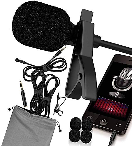 RockDaMic Professional Lavalier Microphone