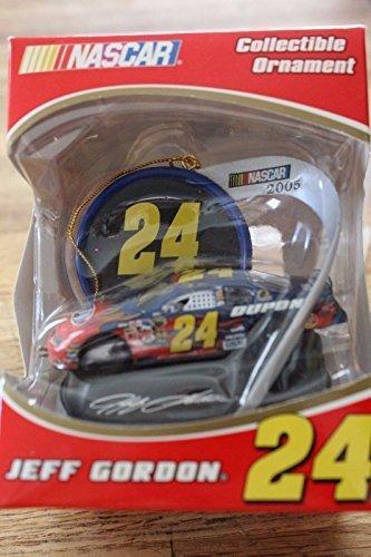 (2005 Edition Jeff Gordon #24 Dupont Flames 1/64 Scale Car Ornament Trevco)