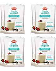EasiYo Fet gratis naturlig yoghurt mix 8 x 140 g saker