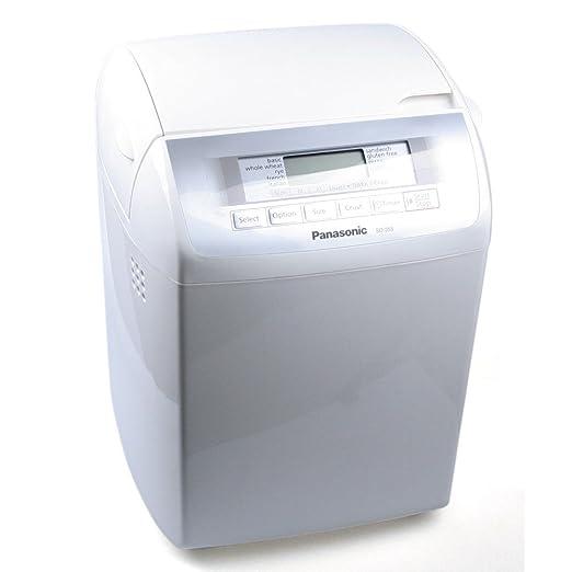 Panasonic SD-255 - Panificadora (Blanco, 1,2 kg, Sensor, 505 ...