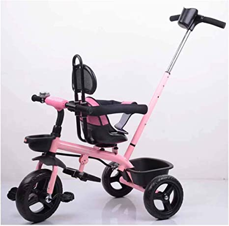 Lu Bicicleta de 3 Ruedas para niños Asiento Giratorio Barra de ...