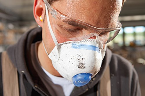 Dräger X-plore 1320 P2 Dust mask | 10 Pack | Disposable respirator + Exhalation valve | Filters out 94% of...