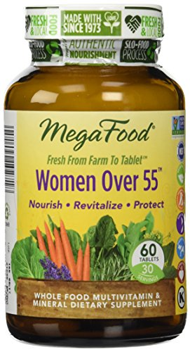 Femmes de MegaFood plus de comprimés multivitamines 55, 60 Comte (Premium Packaging)