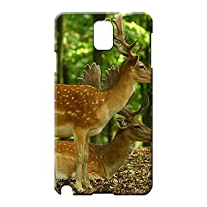samsung note 3 Strong Protect High-end series cell phone case beautiful deer in the forest