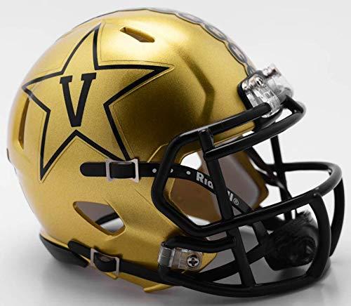 Riddell Vanderbilt Commodores NCAA Revolution Speed Mini Football Helmet