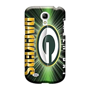 Durable Hard Phone Cover For Samsung Galaxy S4 Mini With Support Your Personal Customized High-definition Green Bay Packers Pictures RobAmarook