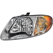 Drivers Headlight Headlamp Replacement for Dodge Chrysler Van 4857701AC
