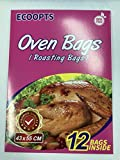 ECOOPTS Turkey Oven Bags Large Size Oven Cooking