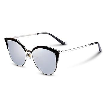 CJJC Gafas de Sol de Las Mujeres polarizadas del Ojo de Gato de la Manera Gafas
