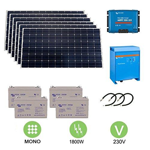 Kit fotovoltaico 1,8 KW a 230 V