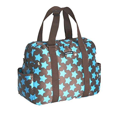 Para bebés LCY para pañales de en los cambios de bolsa de pañales bolsa de viaje de azul azul azul