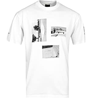 8c504f65 Edwin Flipper '50s Navy & Ecru Polo Shirt Cream: Amazon.co.uk: Clothing