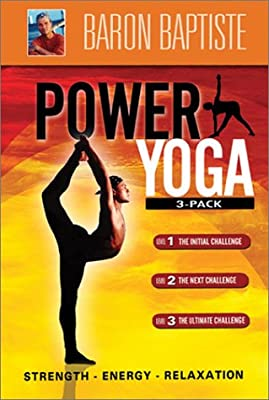Amazon.com: Baron Baptistes Power Yoga 3-Pack: Baron ...