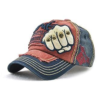 Cikuso Gorra de beisbol snapback hat Algodon Gorras casuales ...