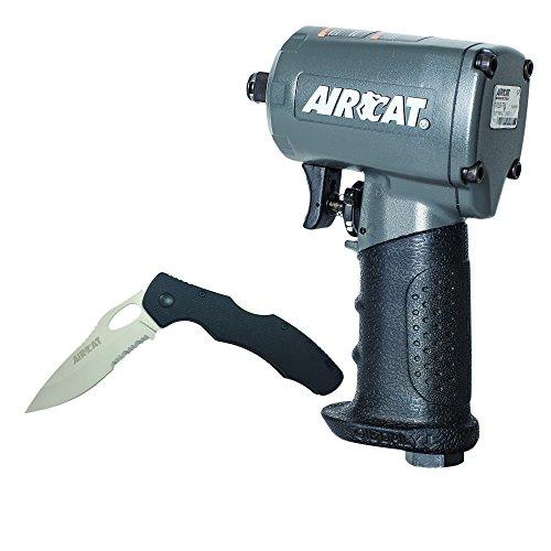 AIRCAT 1055-TH Compact 1/2' Impact, Small, Grey