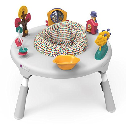 Oribel PortaPlay 4-in-1 Foldable Travel Baby Activity Center - Non Folding Activity