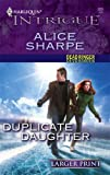 Duplicate Daughter, Alice Sharpe, 0373887035