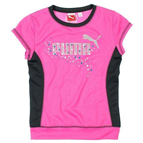 Puma Girls 2-6X Cap Sleeve Athletic Top Pink