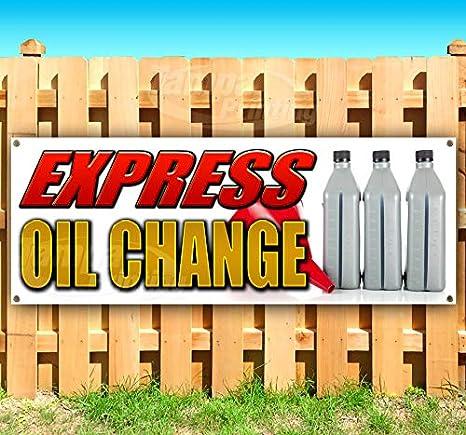 Amazon.com: Express Oil Change - Cartel de vinilo con ...