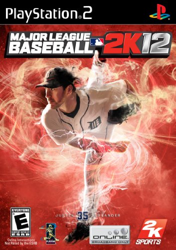 2011 Playstation 2 Game - Major League Baseball 2K12 - PlayStation 2