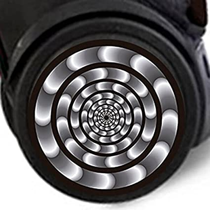 Adhesivos Nikidom Roller Wheel Sticker Hypnotic