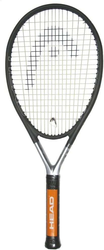 HEAD Ti S6 Tennis Racket Pre-Strung Head Heavy Balance 27.75 Inch Racquet - 4 1/2 In Grip