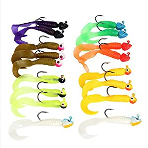 Bouti1583 fishing tackle lures baits jigs set for Amazon fishing lures
