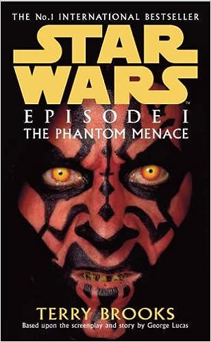 Star Wars Phantom Menace Book