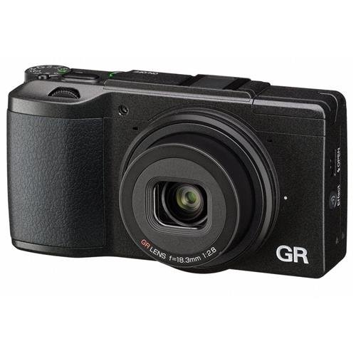Ricoh GR II Digital Camera with 3-Inch LCD (Black) by Ricoh