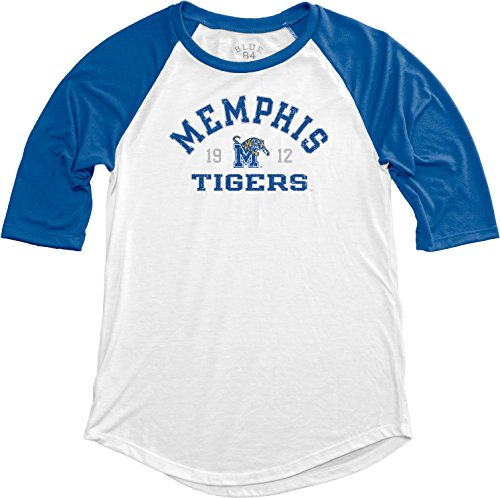 Memphis Tigers Tigers - NCAA Memphis Tigers Adult Women NCAA Women's Teagan Baseball Tee,Large,Royal