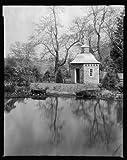 Photo: Lochiel, estates, birdhouses, water bodies, Gordonsville, Virginia, Architecture, 1934 . Size
