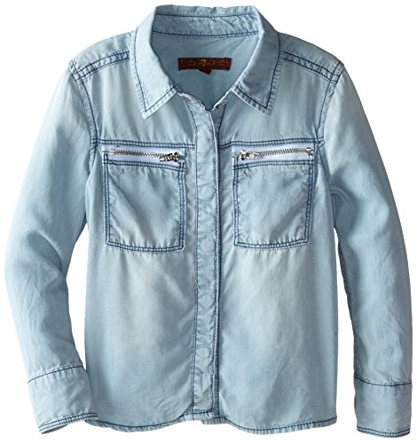 All Mankind Little Boyfriend Chambray