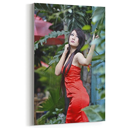 Capelli Robe (Westlake Art Canvas Print Wall Art - Beauty Lady on Canvas Stretched Gallery Wrap - Modern Picture Photography Artwork - Ready to Hang - 12x18in (a11z))