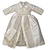 "Baby boy Christening Outfit ''B002"" (Blessing - Baptism) Ropon Bautizo (12-24 Months, Ivory)"