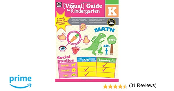 Workbook cutting worksheets : The Visual Guide to Kindergarten: Thinking Kids, Carson-Dellosa ...
