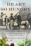 Front cover for the book Heart So Hungry: the Extraordinary Expedition of Mina Hubbard Into the Labrador Wilderness by Randall Silvis