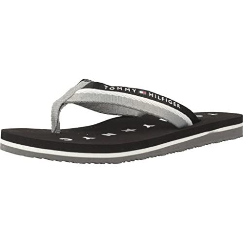 Tommy Hilfiger Comfort Low Beach Sandal amazon-shoes neri
