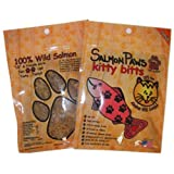 Salmon Paws Kitty Bitts Cat Treats, My Pet Supplies