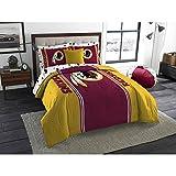 NFL Anthem Twin/Full Bedding Comforter Only, Washington Redskins