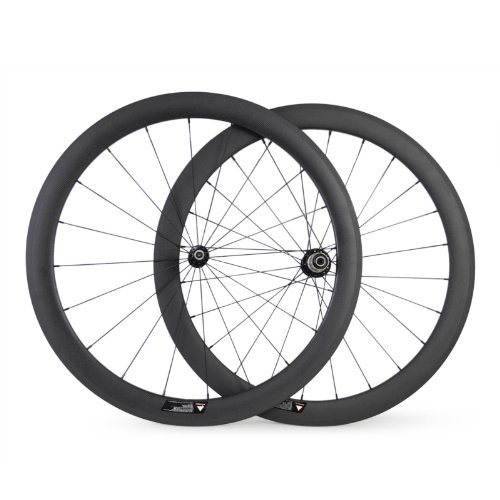 Baixiang 700C 50mm Carbon Wheels Road Bike Clincher LightWeight Wheels For Shimano