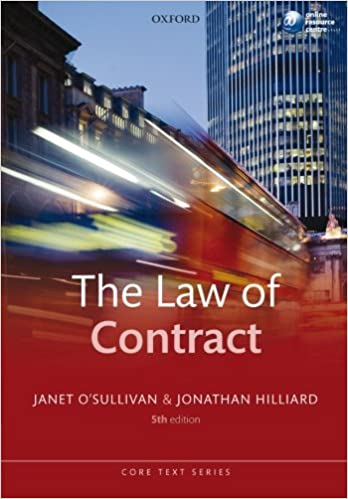 The Law of Contract (Core Text) (Core Texts Series)