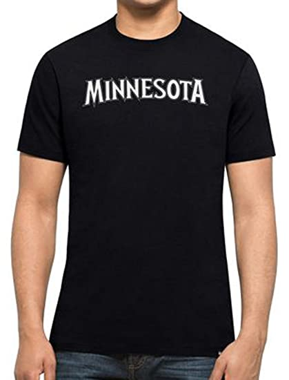 47 Forty Seven Brand Minnesota Timberwolves MVP Splitter Tee NBA T-Shirt Mens: Amazon.es: Ropa y accesorios