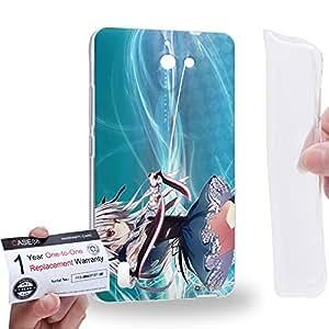 Case88 [Huawei Ascend G628] Gel TPU Carcasa/Funda & Tarjeta de garantía - Absolute Duo Julie Sigtuna 2100