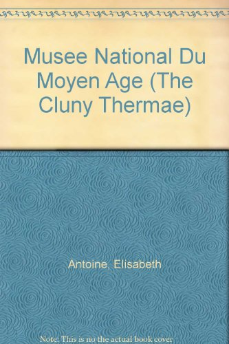 Musee National Du Moyen Age (The Cluny Thermae)