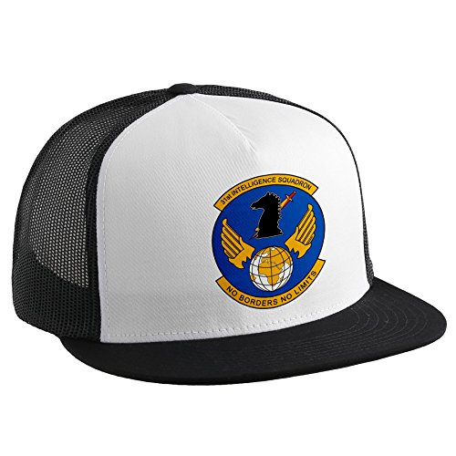 ExpressItBest Trucker Hat with U.S. Air Force 31st Intelligence Squadron Desert Knights,