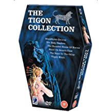 The Tigon Collection (Witchfinder General / The Body Stealers / The Haunted House of Horror / The Blood on Satan's Claw / The Beast in the Cellar / Virgin Witch) Region 2 - PAL