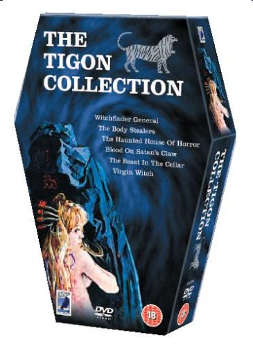 - The Tigon Collection (Witchfinder General / The Body Stealers / The Haunted House of Horror / The Blood on Satan's Claw / The Beast in the Cellar / Virgin Witch) Region 2 - PAL