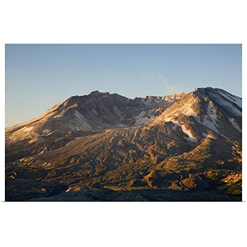 GREATBIGCANVAS Poster Print Entitled Mt. St. Helens Crater with Lava Dome, View from Johnston Ridge by Jamie and Judy Wild 18